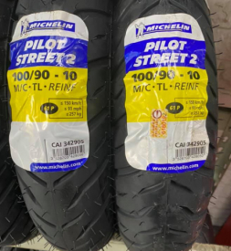 Vỏ xe Michelin Pilot Street 2 100/90-10